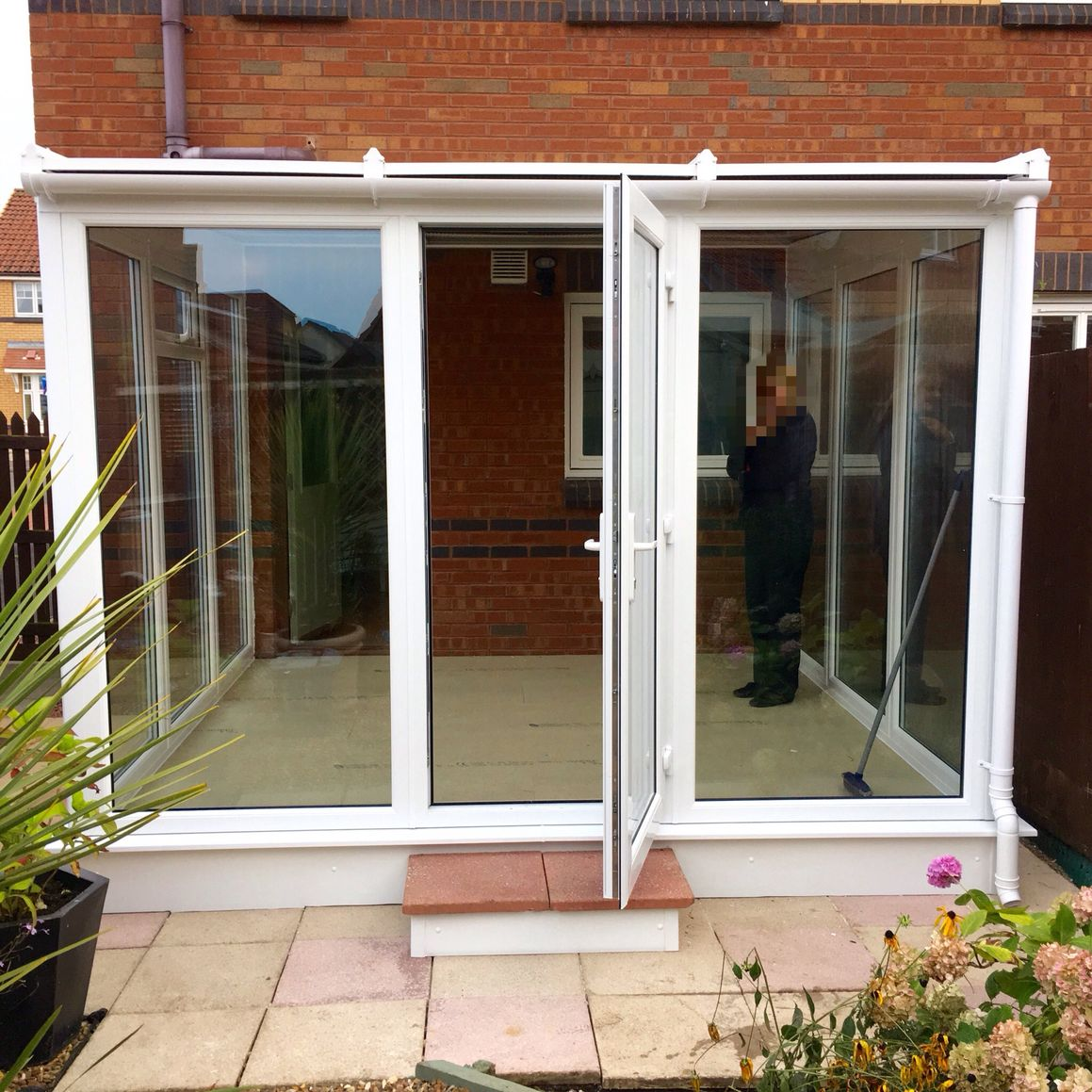 Garden Room Installation Tranent, East Lothian, Scotland