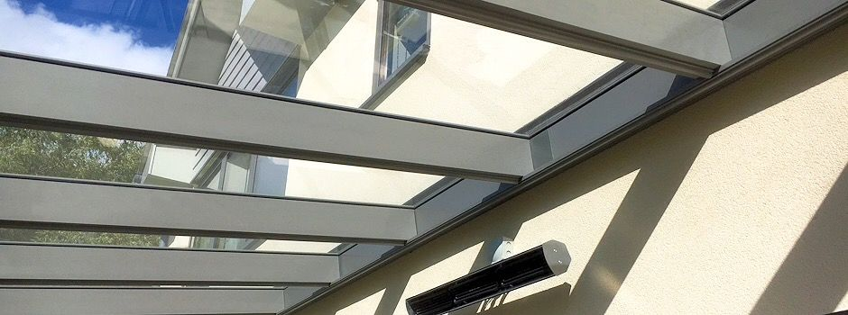 Glass Roof Canopy